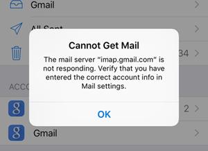 Email alarm bericht ontvangen via GMAIL lukt niet?