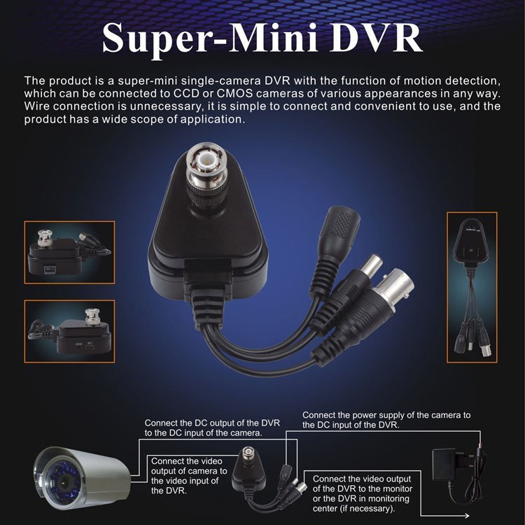 mini dvr flyer